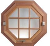 Fenêtre à un vantail basculant sur axe horizontal
